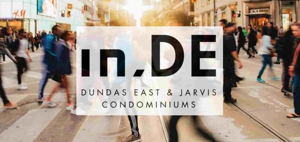 In.De Condos Jarvis and dundas st