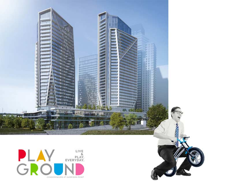 Playground Condos rendering
