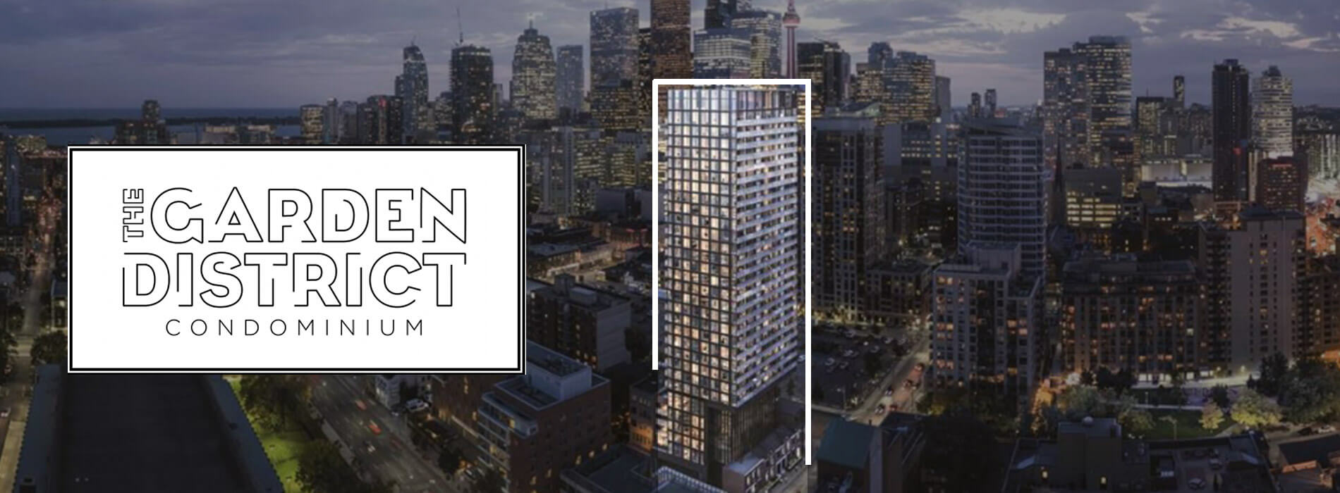 The Garden District Condos Toronto Downtown Floor Plans