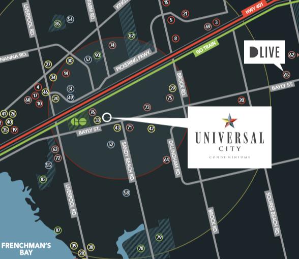 universal City Condos six
