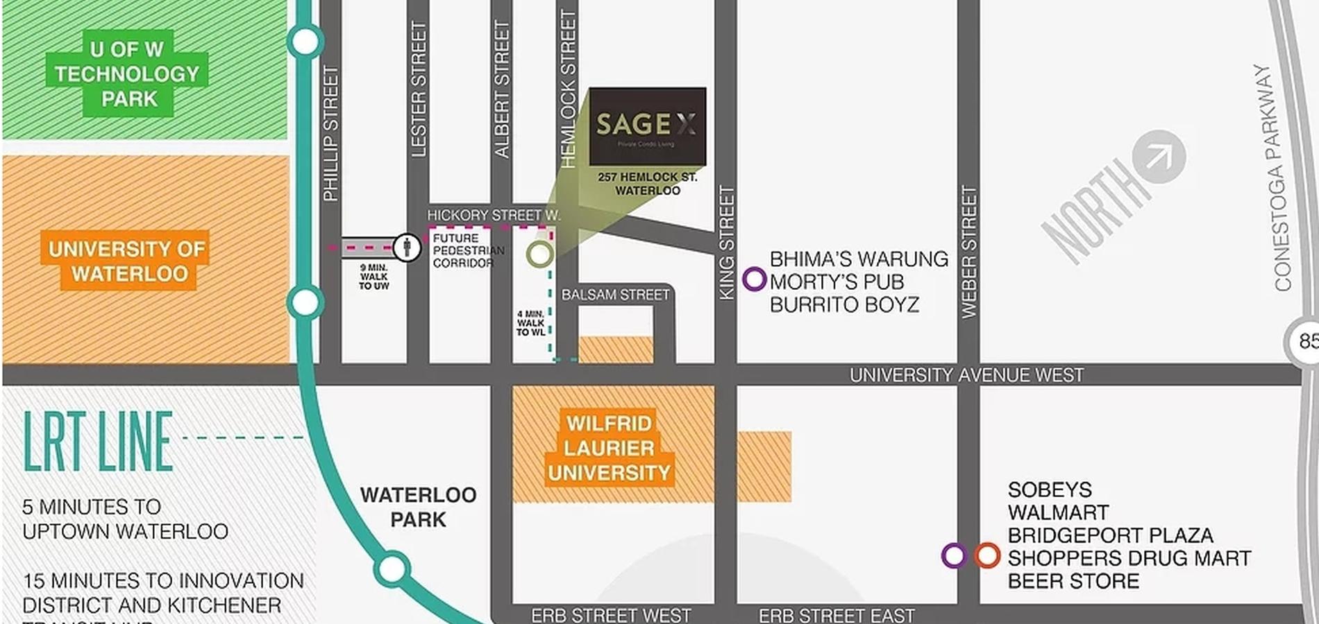 SAGE X | CONDOS | WATERLOO | VIP SALE | price list | floor plans