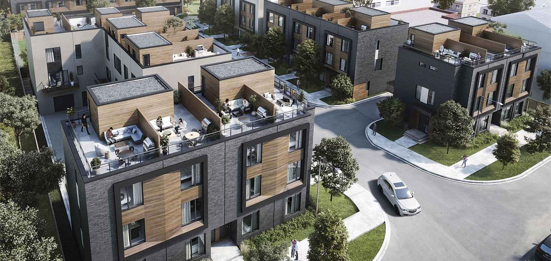 Terraces at Eglinton North York Townhouses