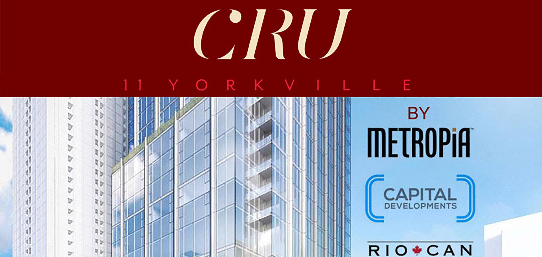 CRU 11 YORKVILLE Condos