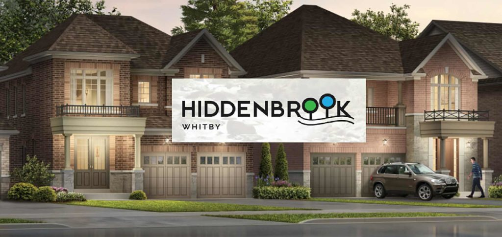 Hiddenbrook homes in whitby