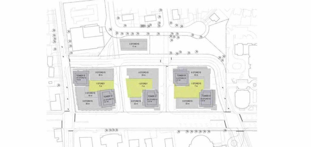 M2M Site Plan North York