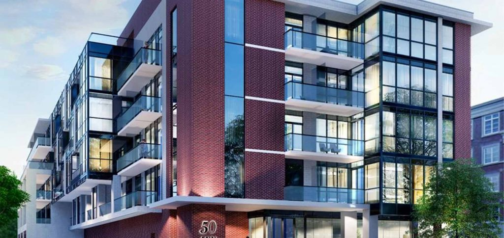 50 Ann condos by Brookfield