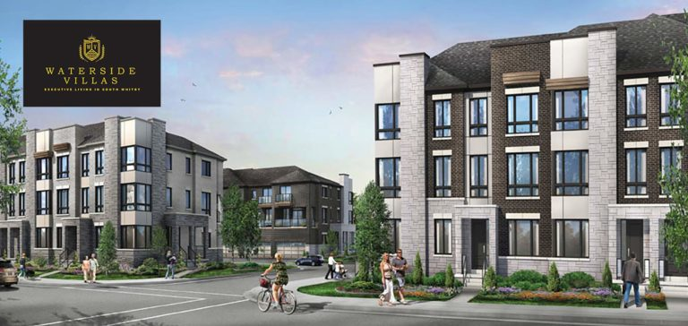 Waterside Villas Townhomes Whitby