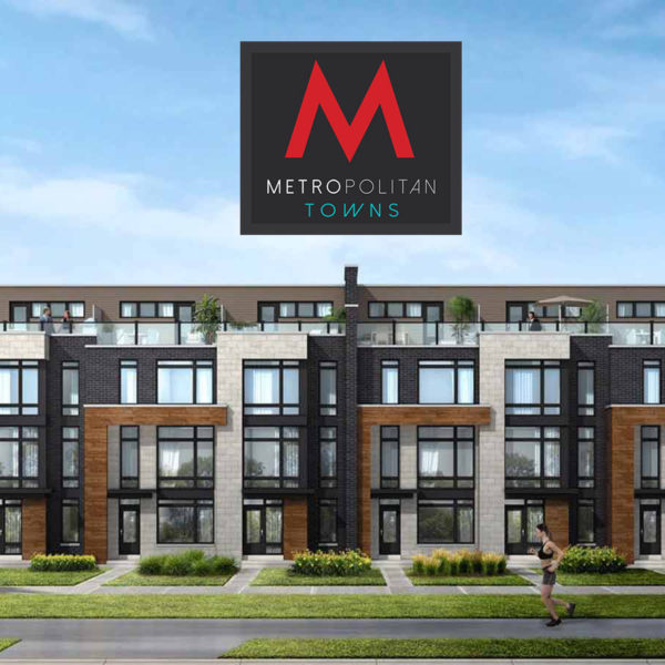 Metropolitan townhomes Pickering