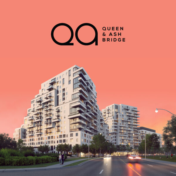 Queen & Ashbridge condos