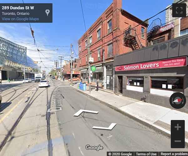 Artistry condos Toronto map