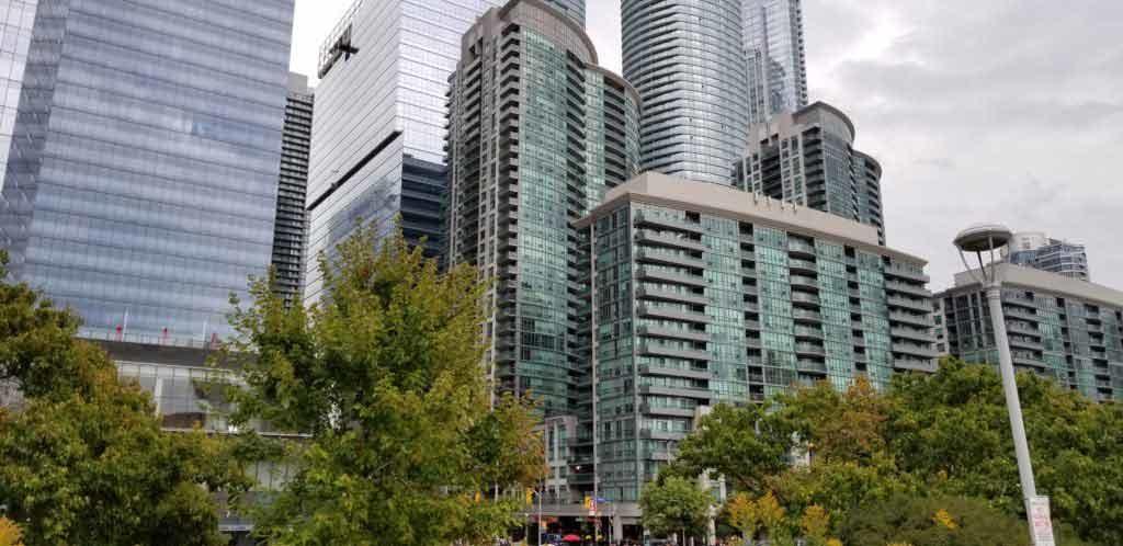 Condo living in Toronto