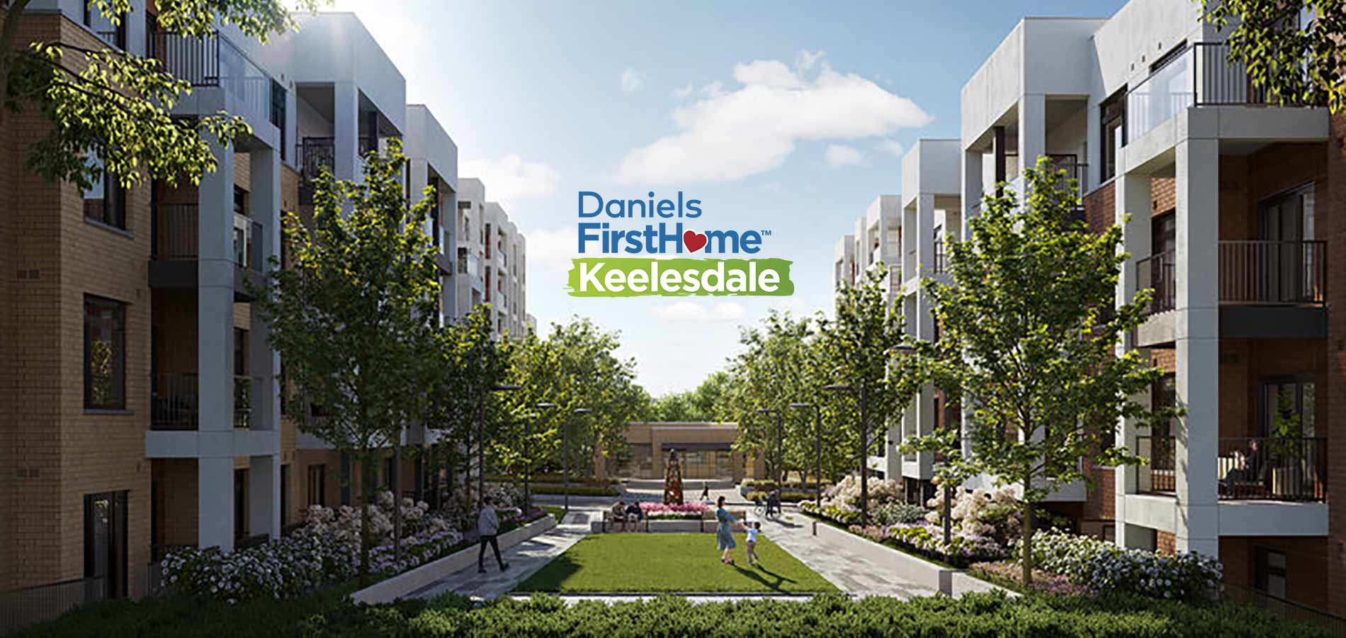 Daniels Firsthome Keelesdale condos