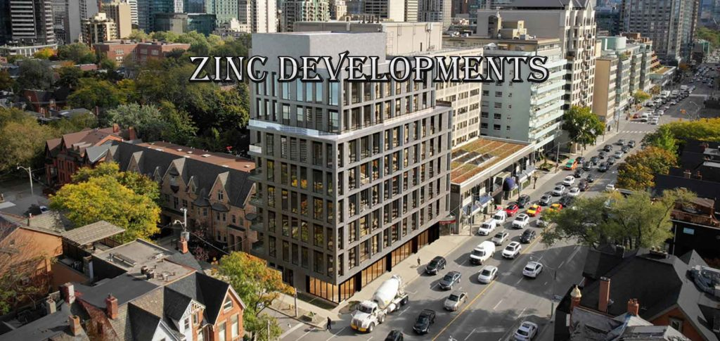 121 Avenue Road condos Zinc Developments