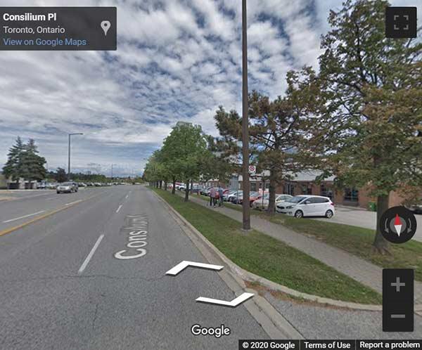 670 Progress Avenue Condos map