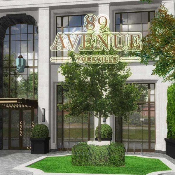 89 Avenue Road condos Toronto Yorkville