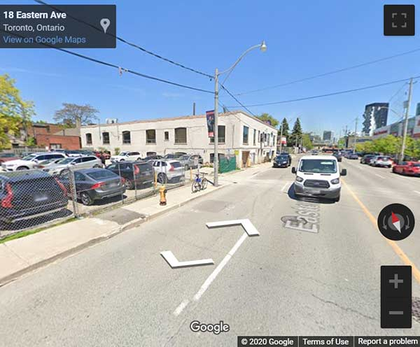 CORKTOWN CONDOS TORONTO street view