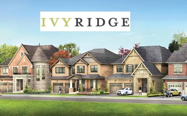 ivy ridge Whitby new townhomes for sale