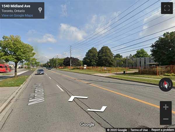 1555 Midland Avenue Townhomes street view