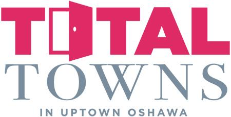 Total Towns Uptown Oshawa logo