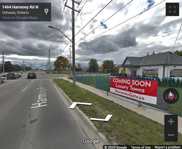 Total Towns Uptown Oshawa street view