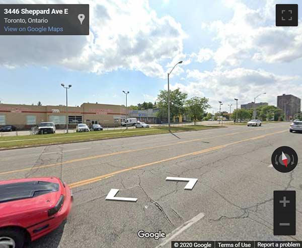 3445 Sheppard Avenue East Condos street view