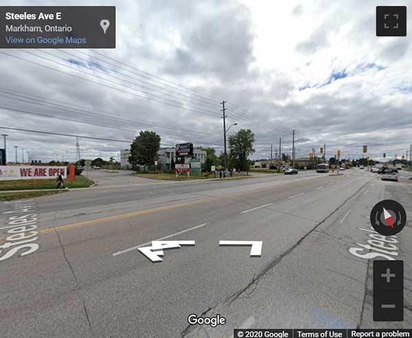 4631 Steeles Avenue East condos street view