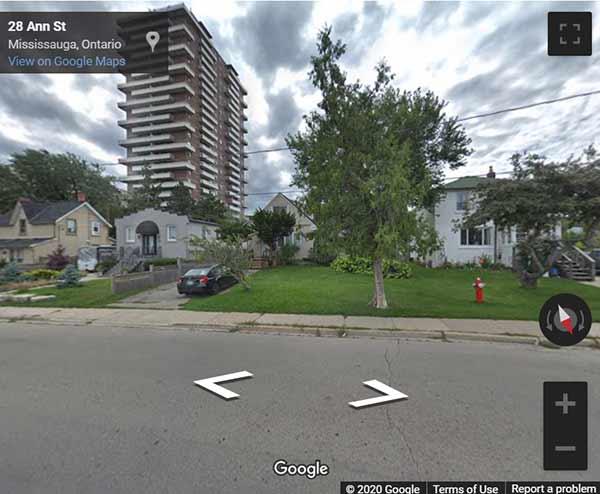Westport Condos street view