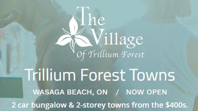 Trillium Forest Towns wasaga.