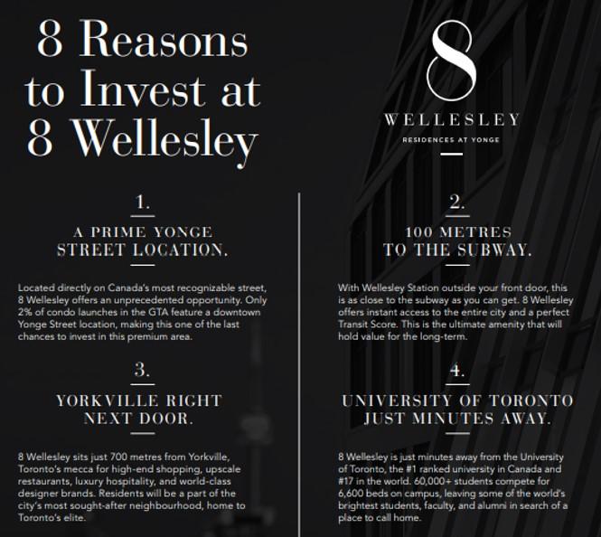 8 Wellesley street condos