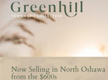 greenhill towns oshawa