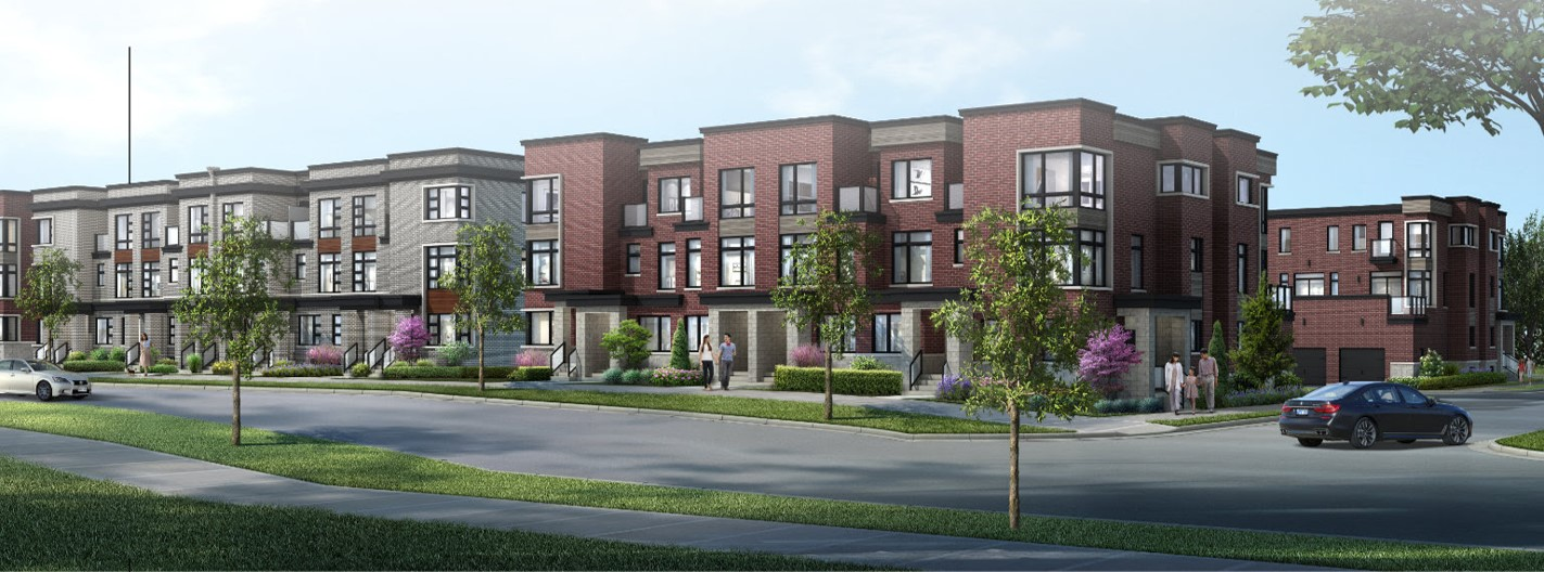 Cornell Rouge townhomes