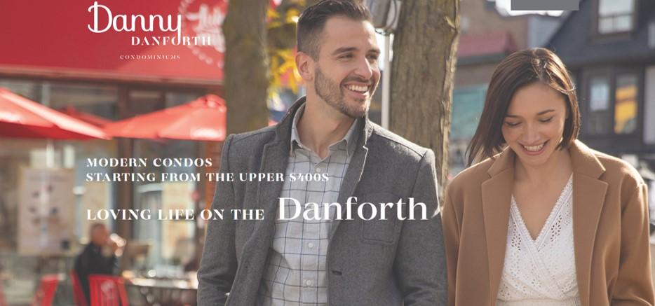 Danny Danforth condos in toronto