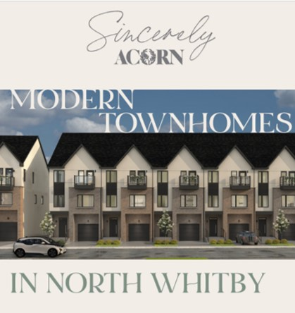 Sincerely Acorn townhomes