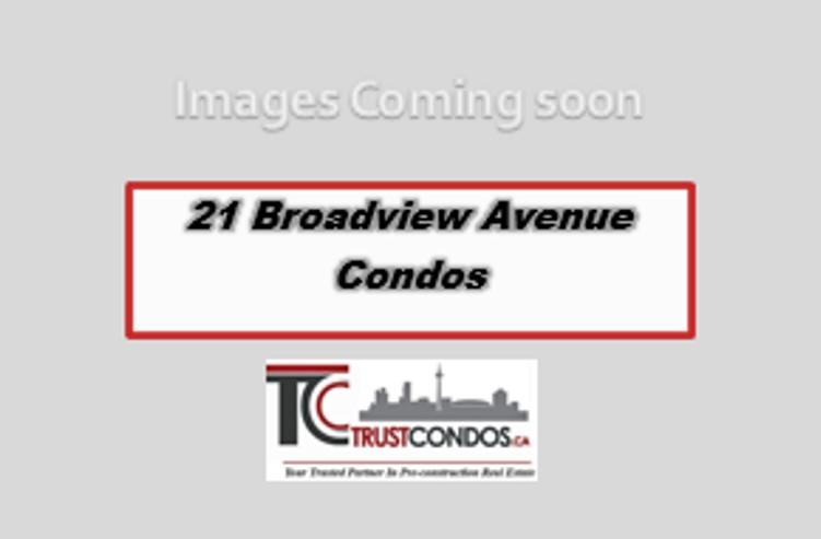 21 Broadview Avenue Condos