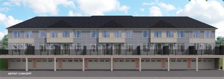 trailways townhomes stouffville