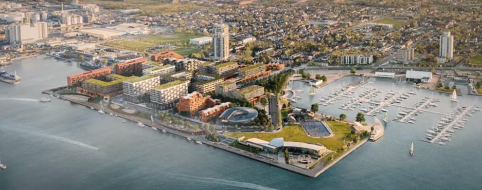 waterfront shores condo